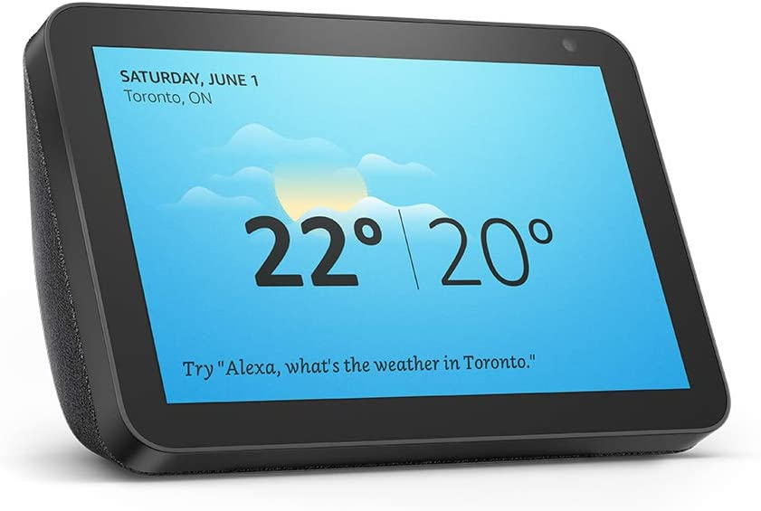 Amazon Echo Show 8 in Charcoal