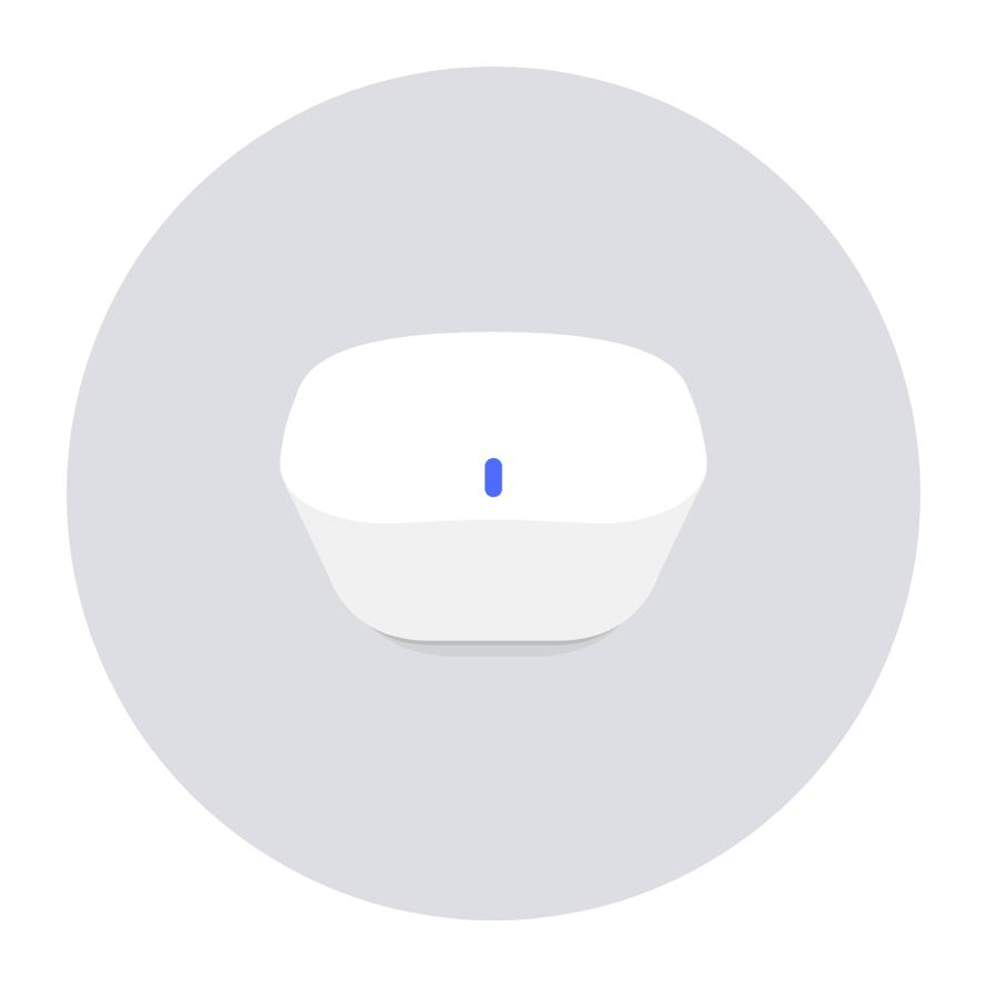 eero app blinking blue light screen