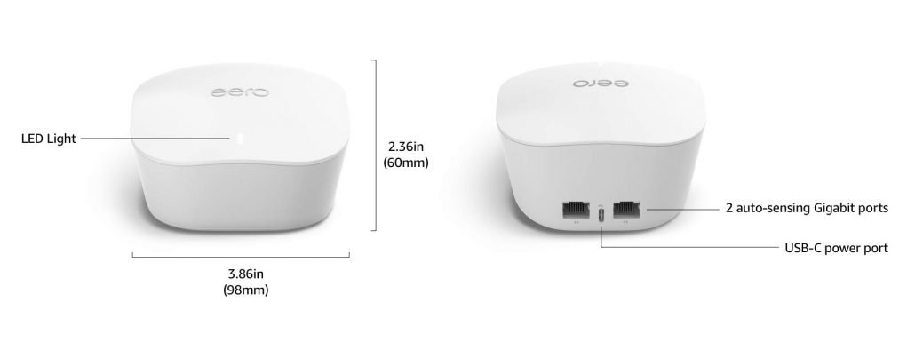 Amazon eero mesh wifi network design