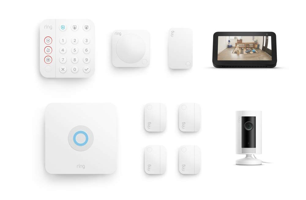 Ring Alarm security kit with echo show 5