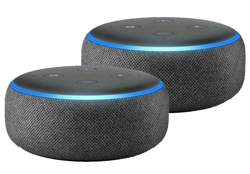 2 Amazon Echo Dots