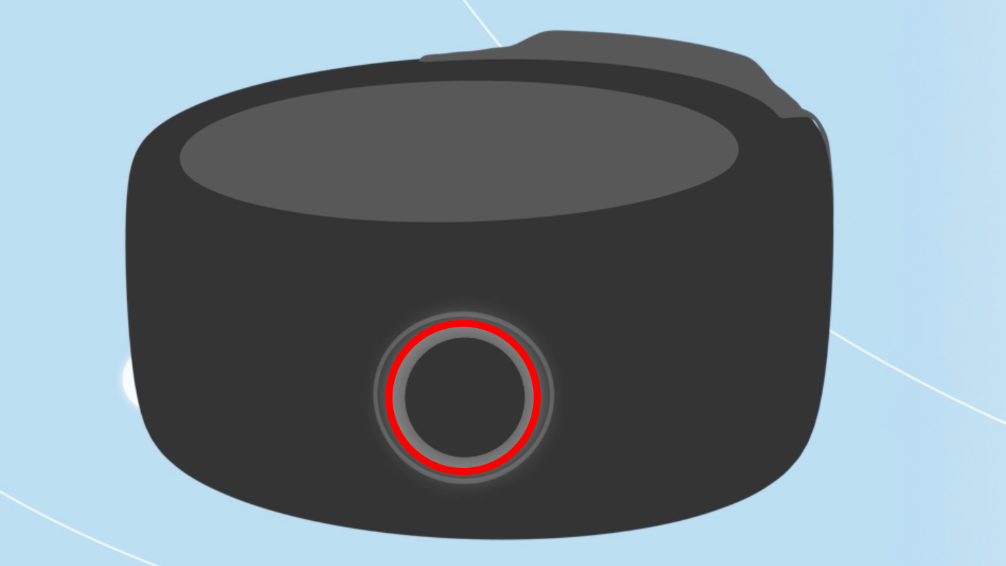 Amazon Echo Loop action button