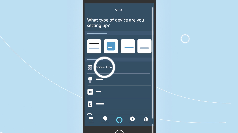 Amazon Echo Loop Alexa app setup