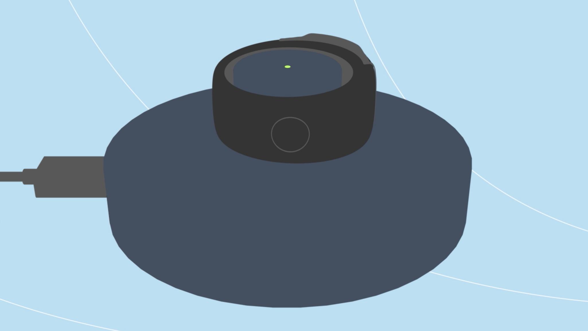 Amazon Echo Loop green light