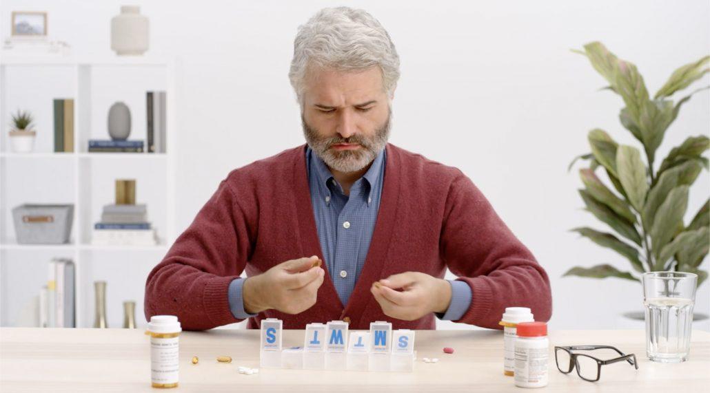 Pillpack pill sorting
