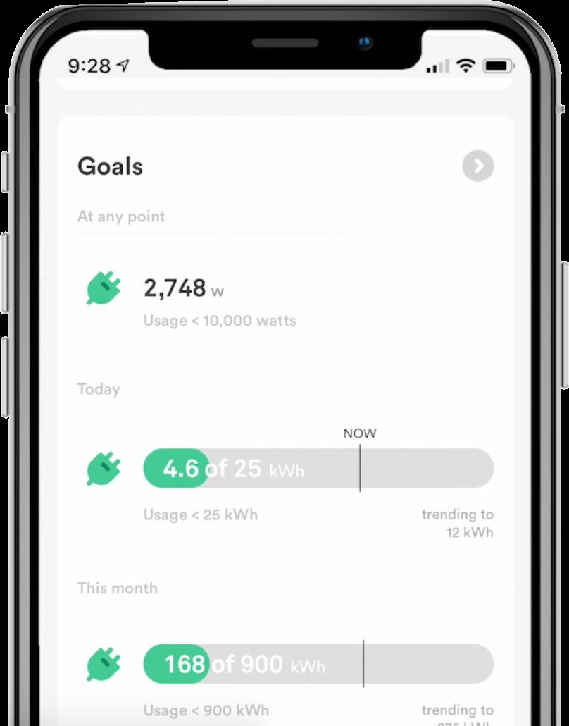 Sense Energy Monitor goals