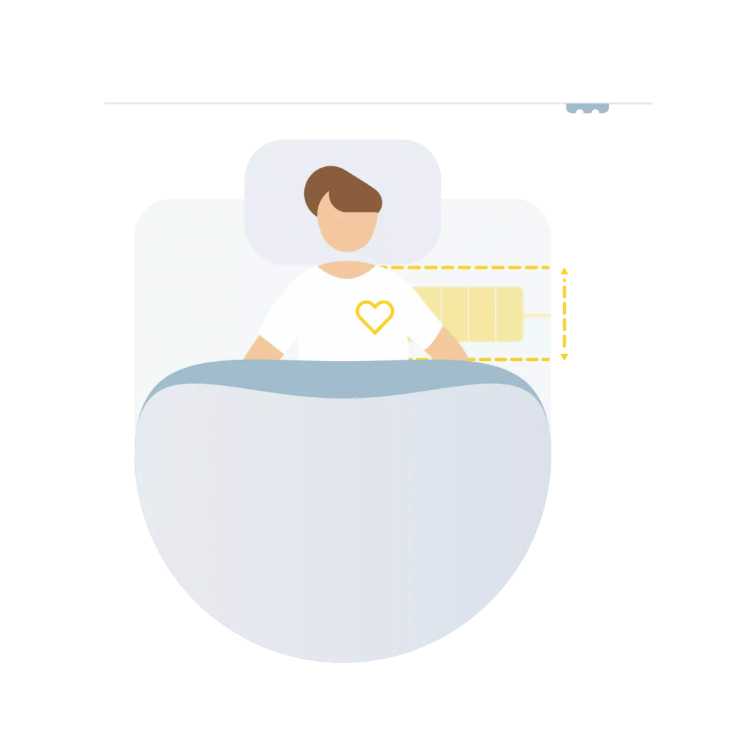 Withings Sleep Mat heart placement