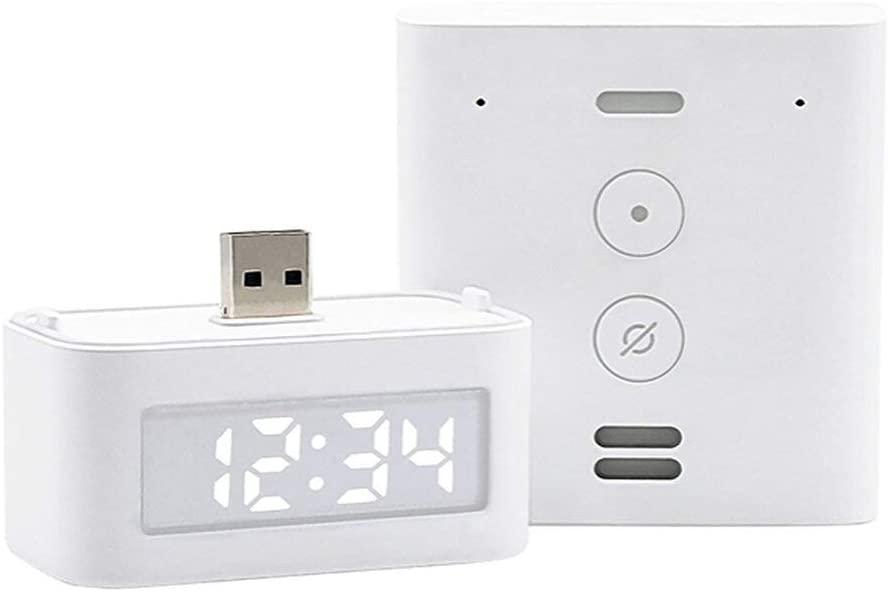 Amazon Echo Flex with Smart Clock