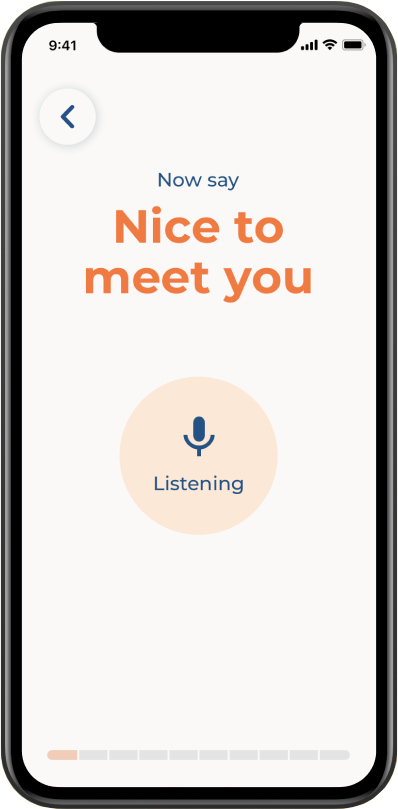 Voiceitt speech recognition training