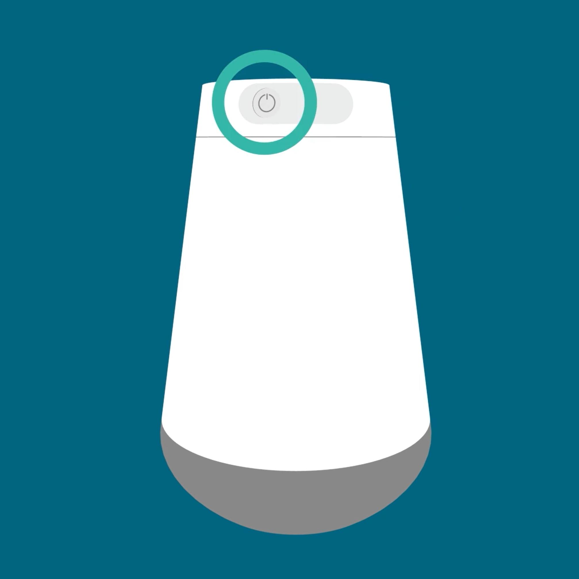 Amazon Alexa Soap Dispenser power button