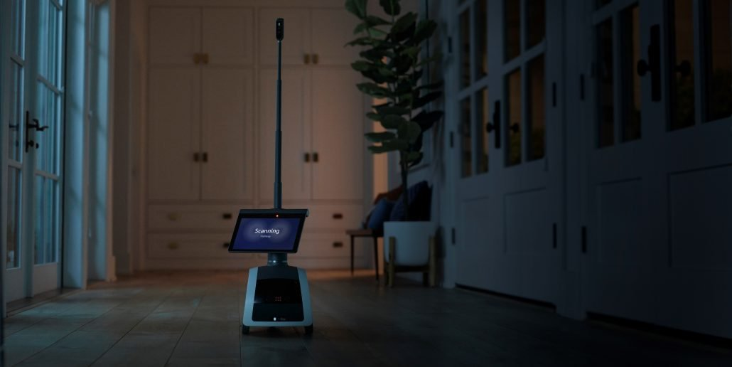 Amazon Astro Robot being used for home security